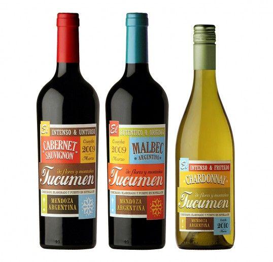 Tucumen wine labels