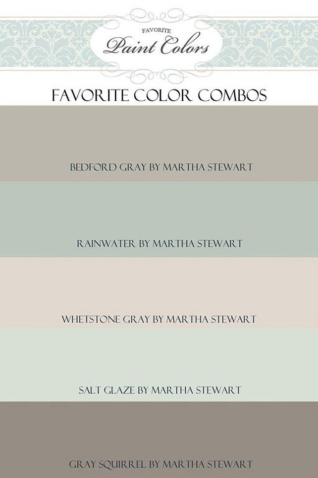 Por Paint Colors Favorite Color Schemes Interior