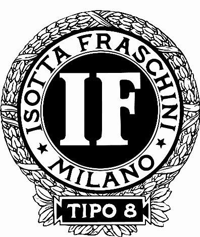 Logo Isotta Fraschini Tipo 8 Isotta Fraschini 1901