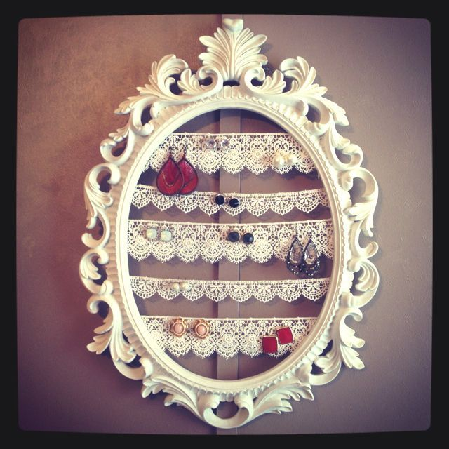 Image result for jewelry organizer stand diy for studs tasarm