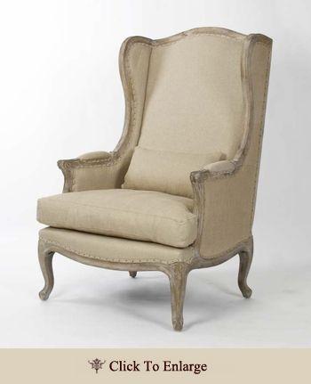 Leon Chair - Burlap and Hemp