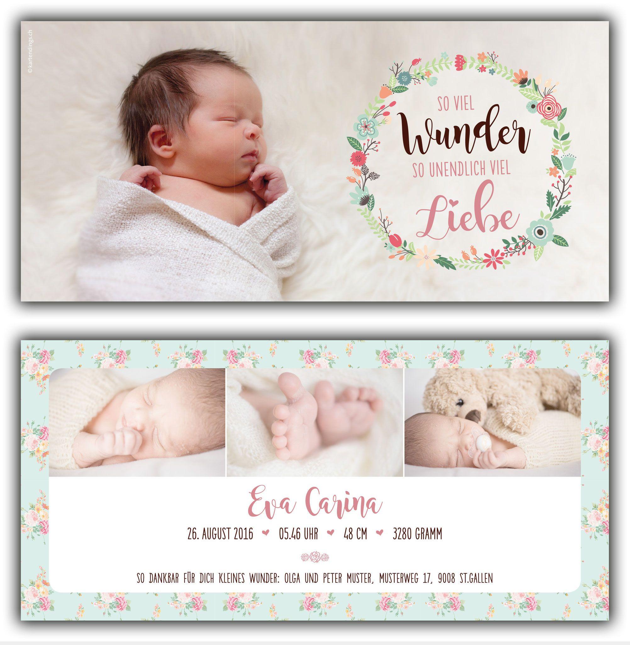 2 Seitig Kartendings Das Ding Fur Kartendesign Geburtskarte Geburtsanzeige Dankeskarte Geburtskarten Geburtsanzeige Dankeskarte Geburt