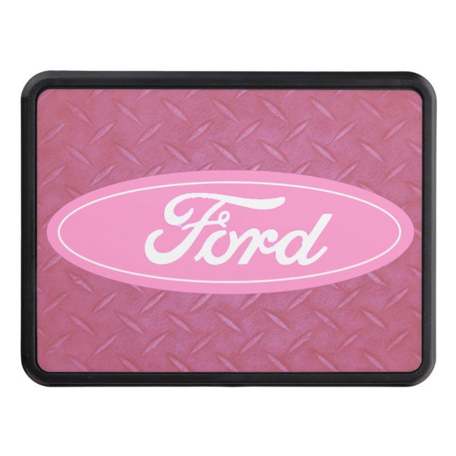 Pink Ford Logo Hitch Receiver Hitch Cover Zazzle Com In 2020 With Images Ford Logo Ford Trucks Ford