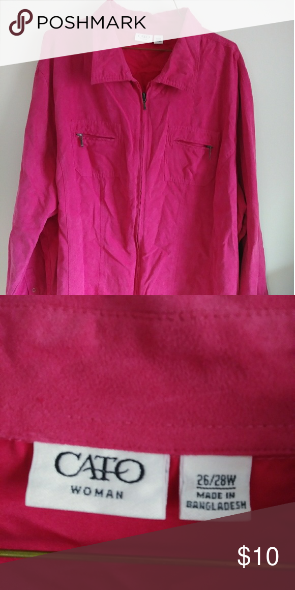cc9f0f08 Cato blouse Like new.. Catos blouse.. Has a velvety feel.. 26/28W Cato Tops  Blouses