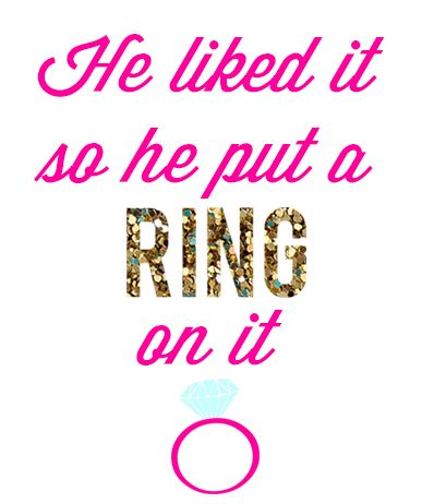 photo about Put a Ring on It Bridal Shower Game Free Printable titled Glam Bachelorette Occasion + Totally free Social gathering Printables! Obtain