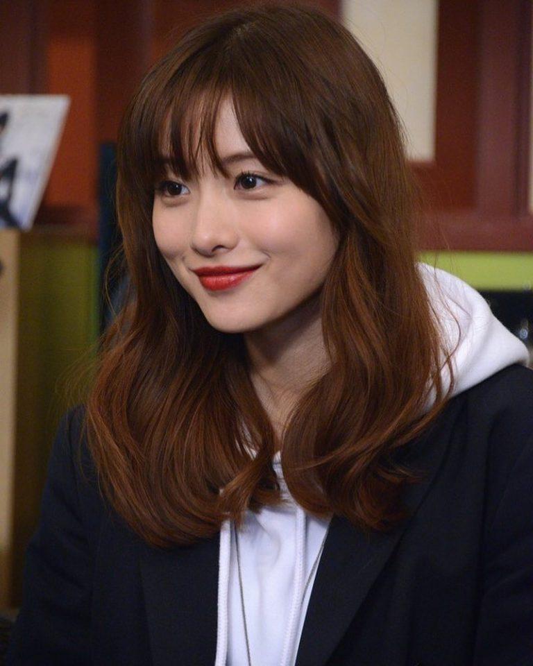 Image result for ishihara satomi long hair