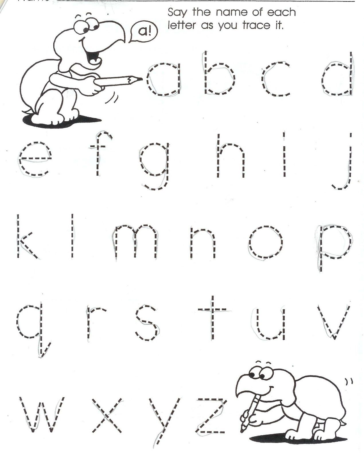 Homework For Kindergarten Worksheets In