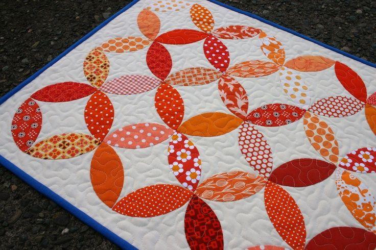 Orange Peel Quilt Block | Orange Peel