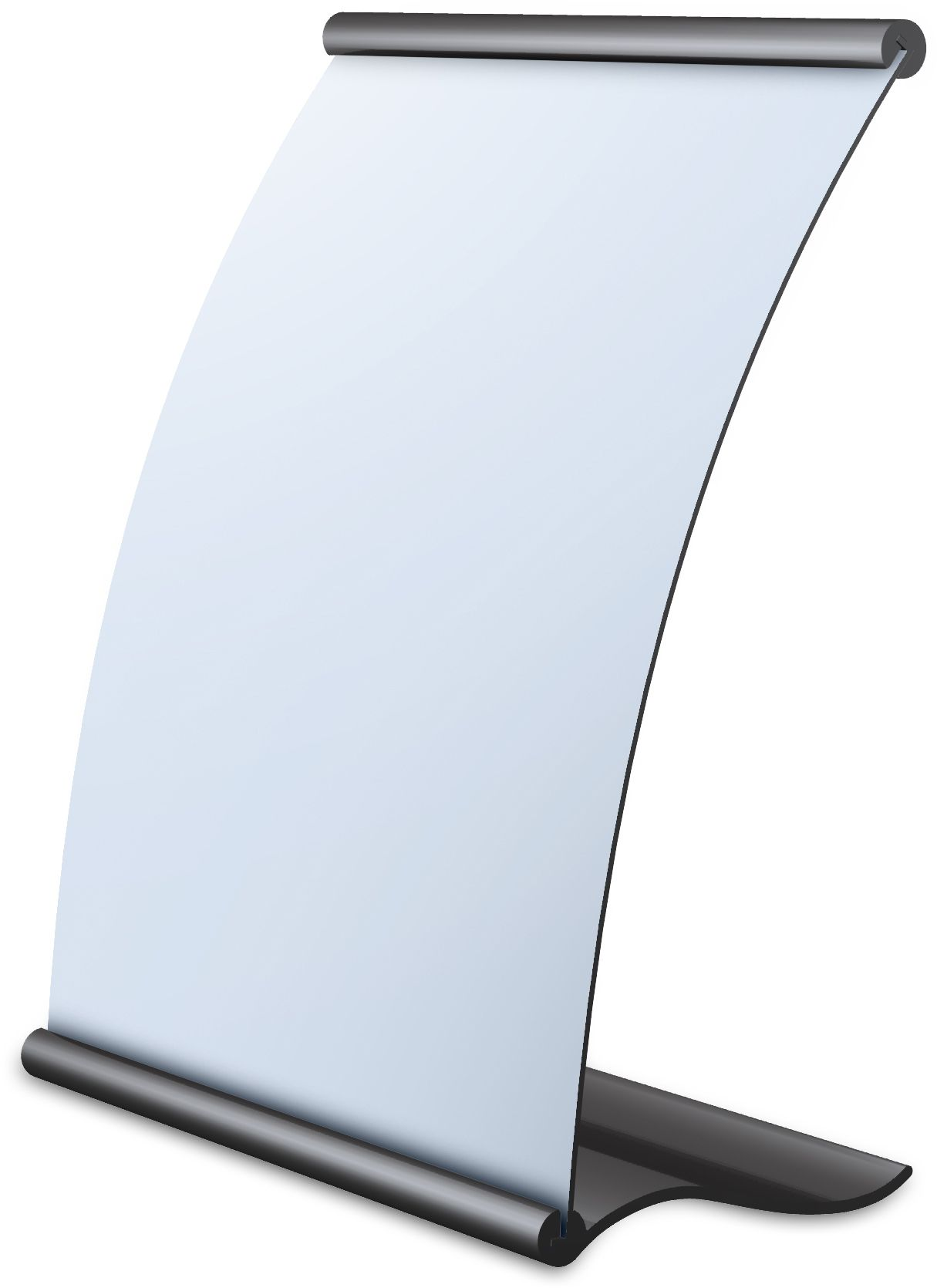 Curved Sign Holders Sign Holder Countertop Display Tabletop Signs