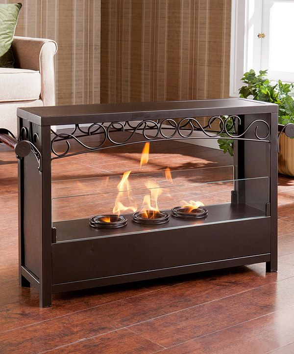Portable Indoor Outdoor Gel Fuel Fireplace Great Idea Pinterest