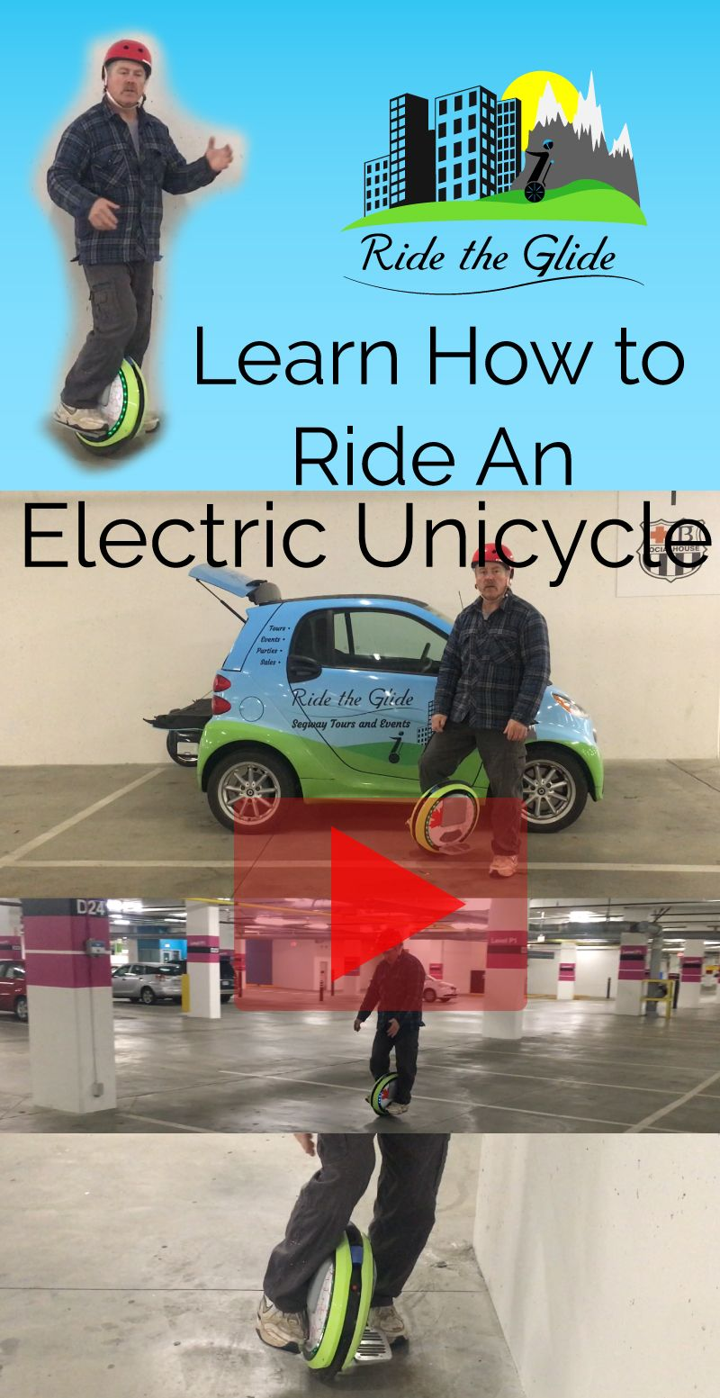 Learn how to ride an electric unicycle unicycle