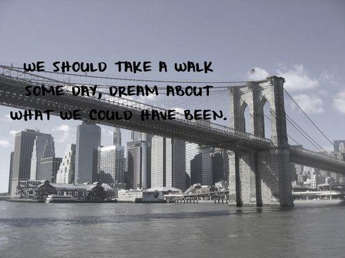 Brooklyn Bridge Quotes hoodie allen lyrics Brooklyn Bridge Quotes
