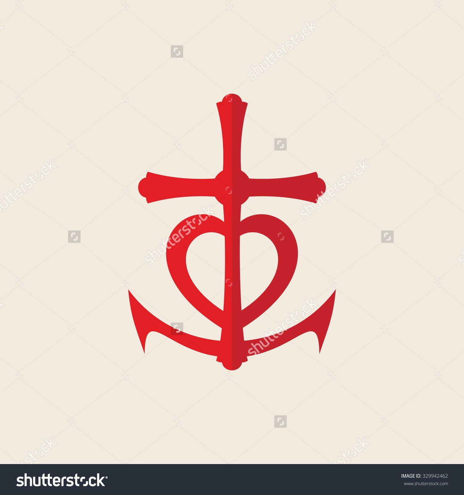 Faith love hope insignia symbol faith hope love stock - Faith love hope pictures ...