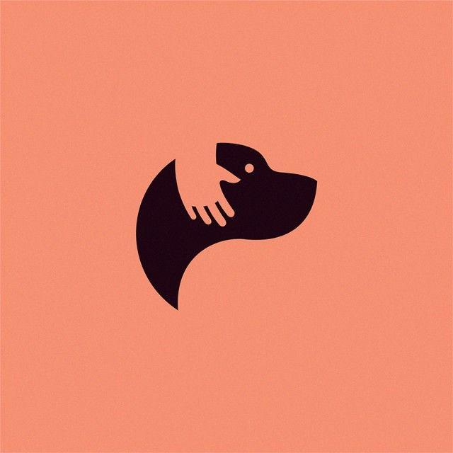 die besten 25 hundesymbol ideen auf pinterest hundelogo hund logodesign und hundeentwurf. Black Bedroom Furniture Sets. Home Design Ideas