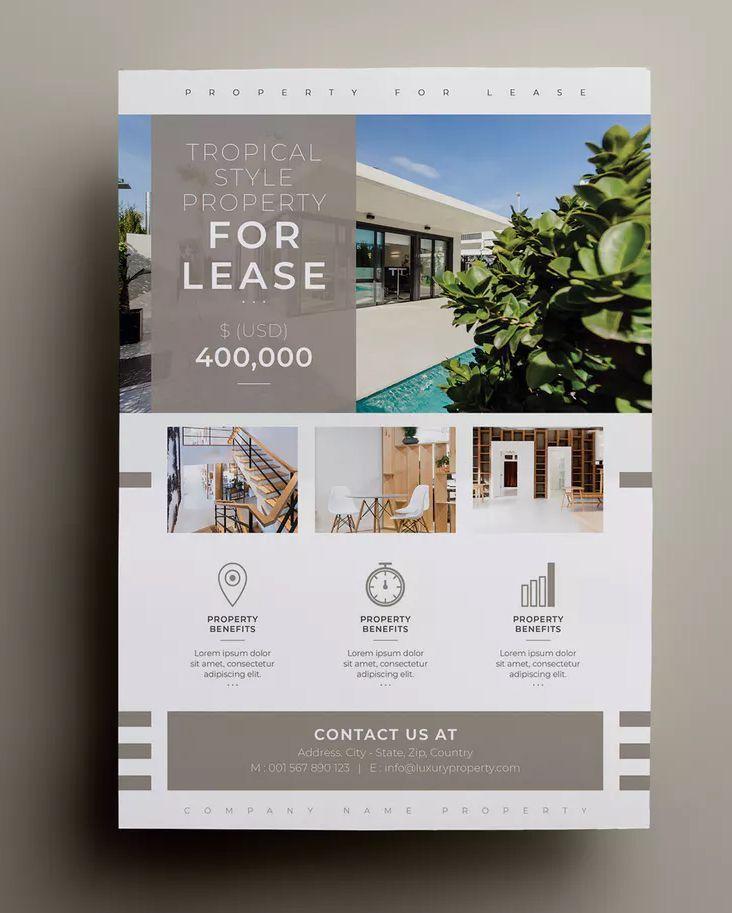 Flyer Design Properties Flyer Template Indesign Indd A4 Paper Size 300 Dpi Resolution D In 2020 Flugblatt Design Vorlagen Fur Flyer Broschurendesign