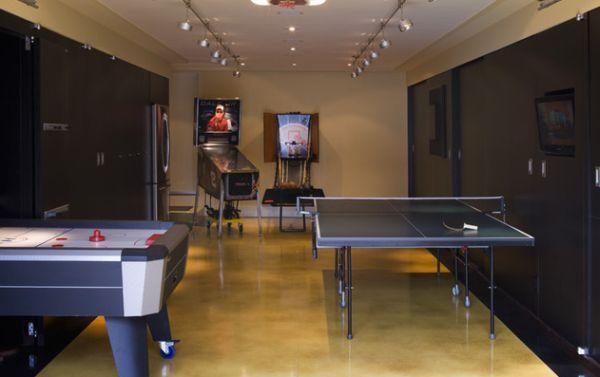 10 Of The Most Fun Garage Game Room Ideas Garage Design Interior