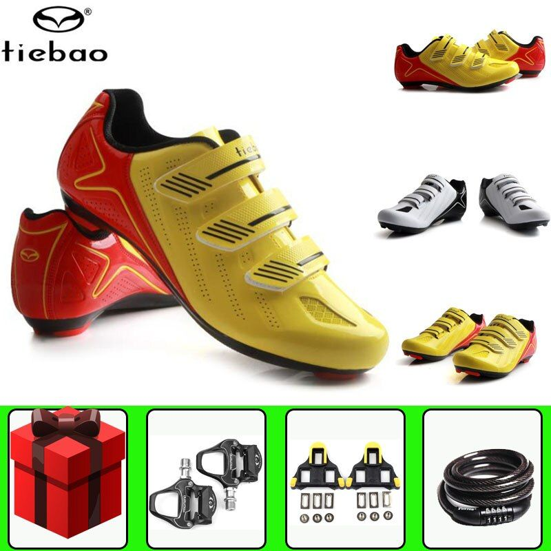 RD MTB Cycling Shoes Professional Men Breathable Bike Shoes Bicycle Self-Locking