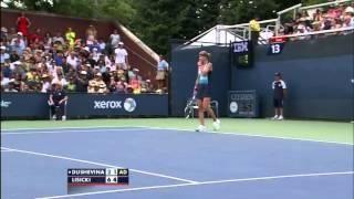 Squirrel Interrupts The Tennis Match Between Sabine Lisicki And Vera Dushevina Funny Sabine Lisicki Tennis Match Tennis
