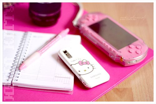 Pink psp ♥