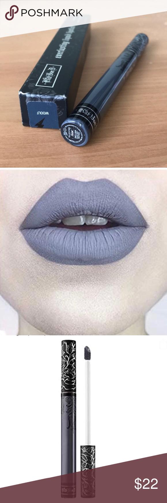 1 hr SALE Kat Von D liquid lipstick Woolf in 2020
