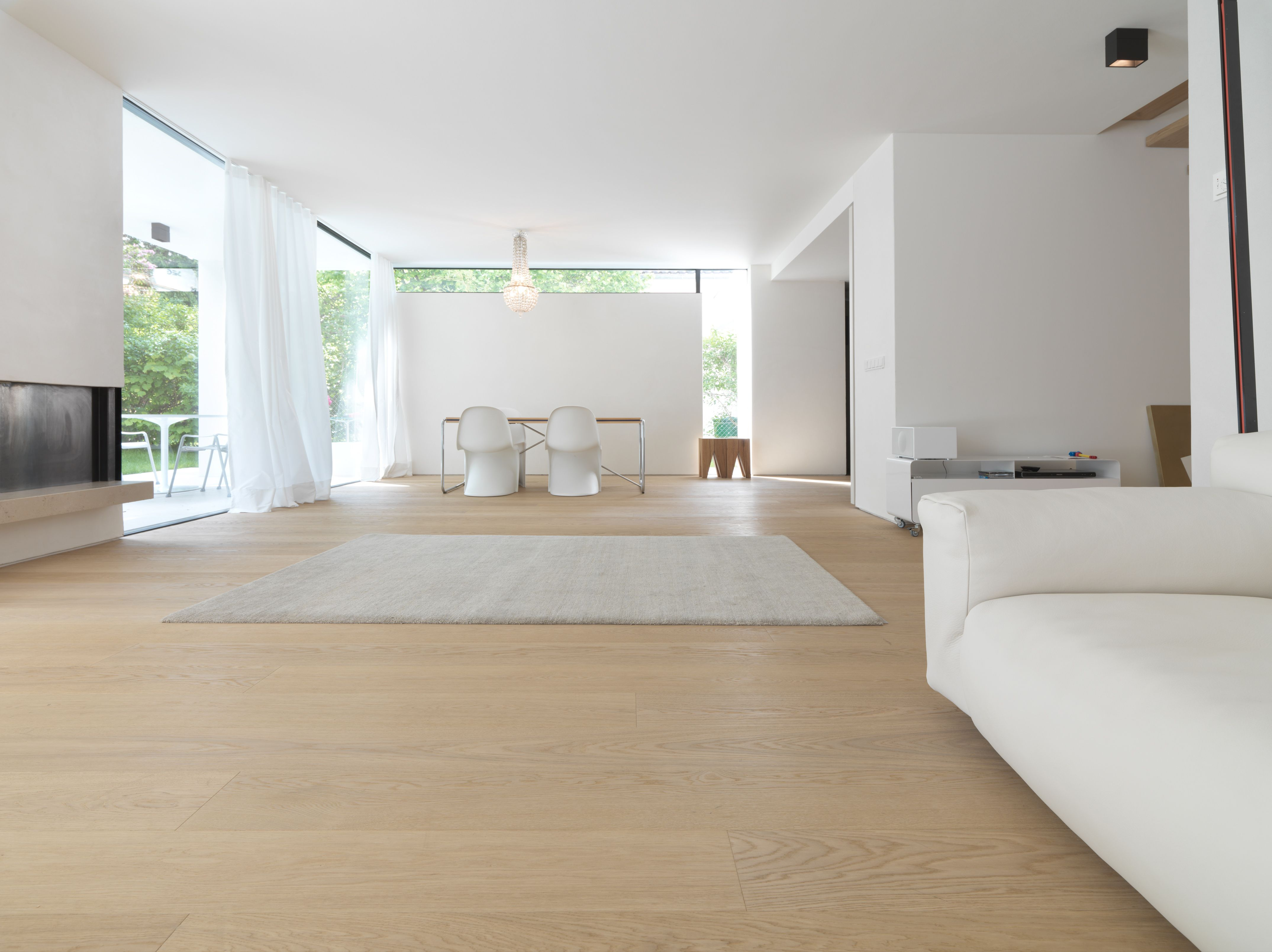 The simplicity of its most beautiful side oak white noblesse floors architects berschneider