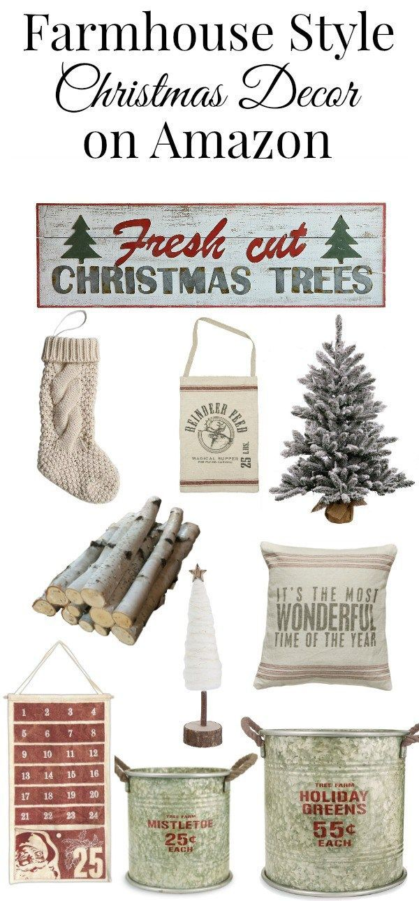 farmhouse christmas decor on amazon christmas pinterest christmas farmhouse christmas decor and christmas decorations