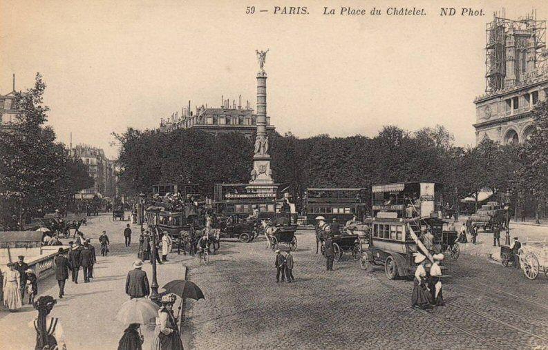 place du Châtelet - Paris 1er/4ème