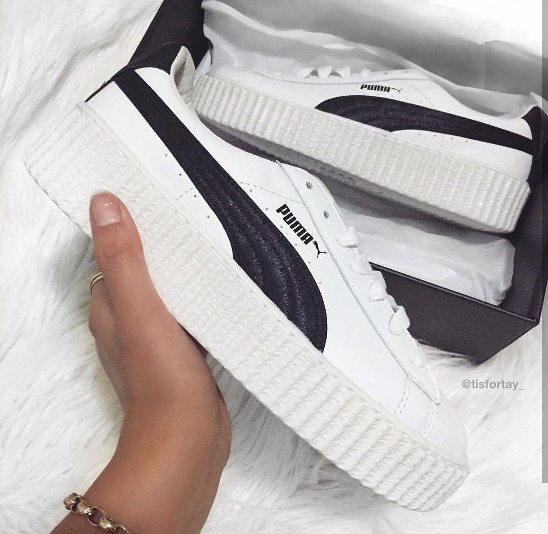 Puma Fenty in white-black/schwarz-weiß