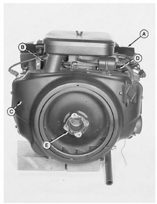 onan engine service manual jd 316 318 420 lawn garden riding rh pinterest com Onan Engine Parts List Onan Engine Repair Parts