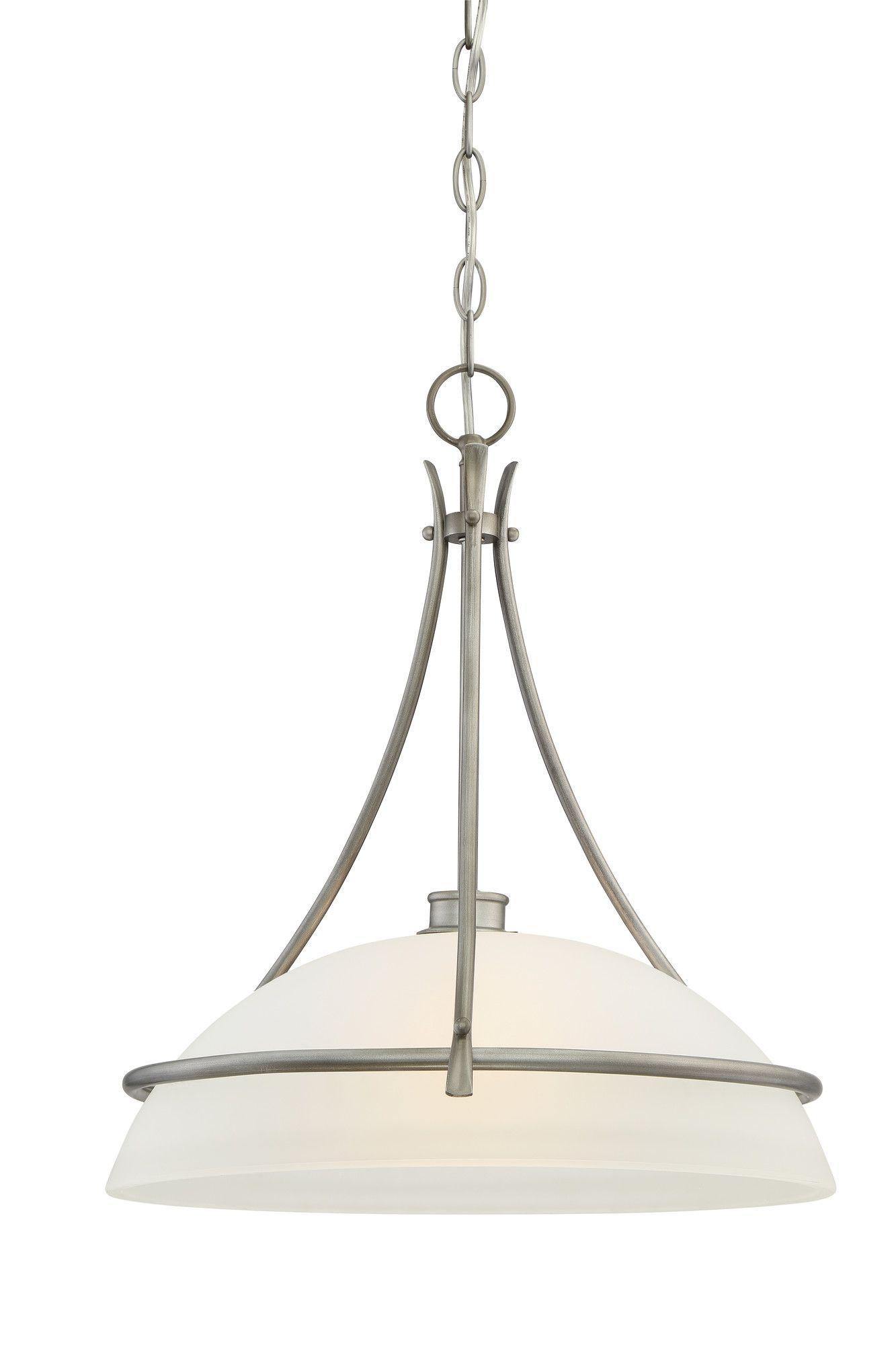 Montego 1 Light Bowl Pendant