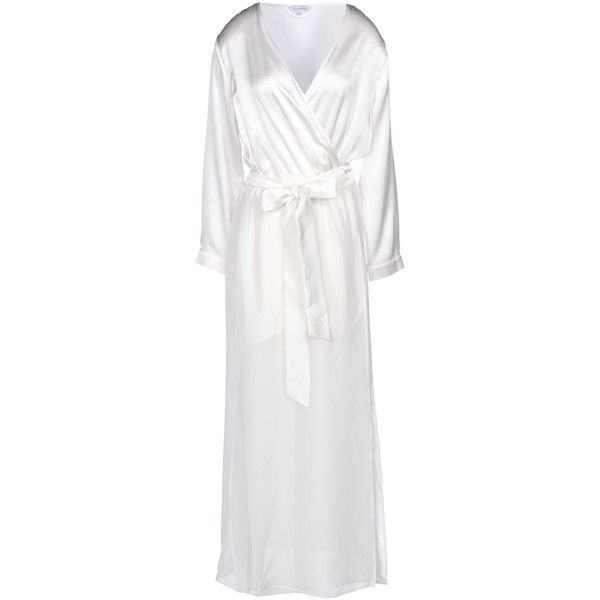 Dear Bowie Dressing Gown ($295) ❤ liked on Polyvore featuring ...