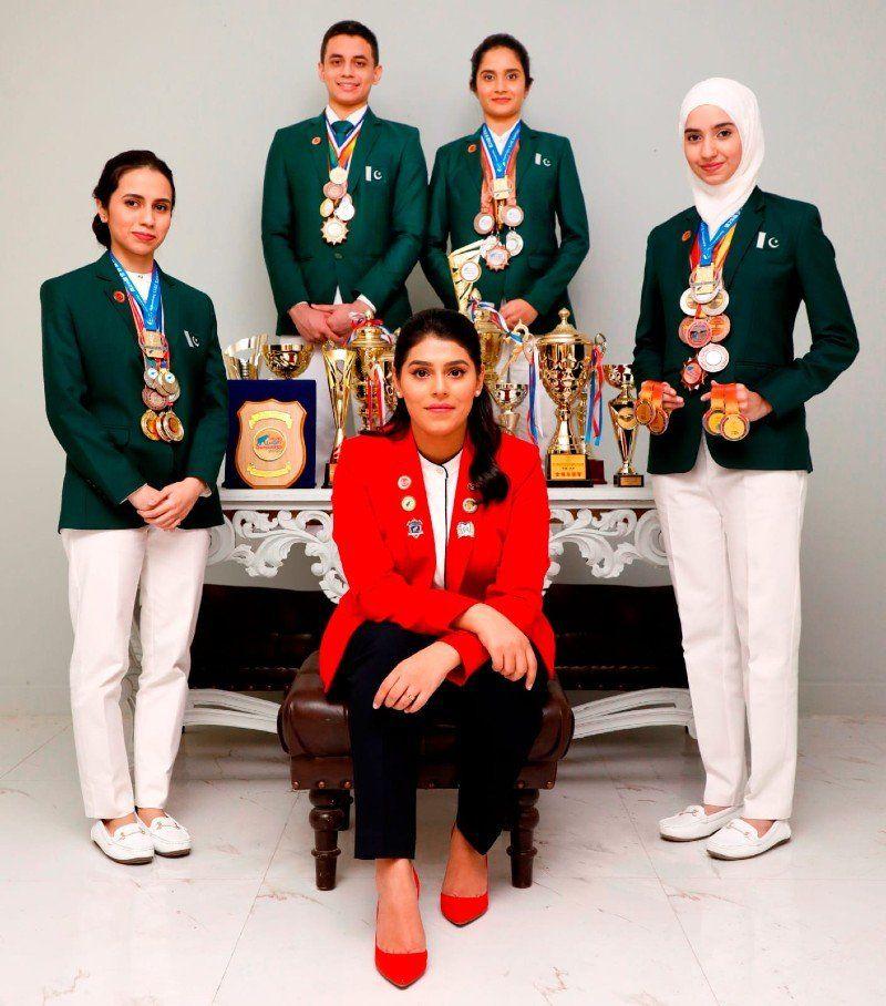 Emma Alam, Sania Alam, Abeerah Ather, Syeda Kisa Zehra   IHMD