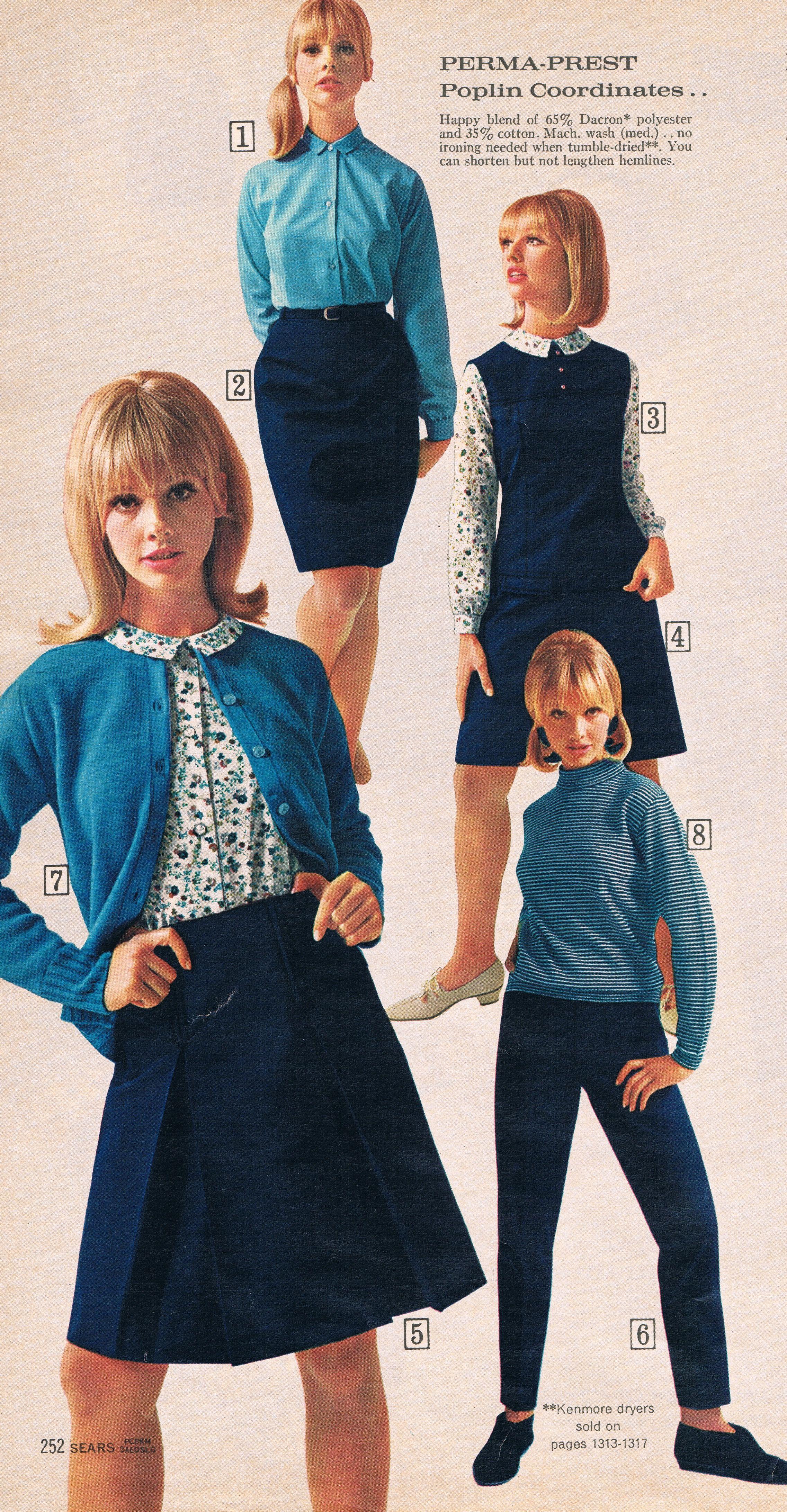 Sears Catalog 60s. Cay Sanderson.