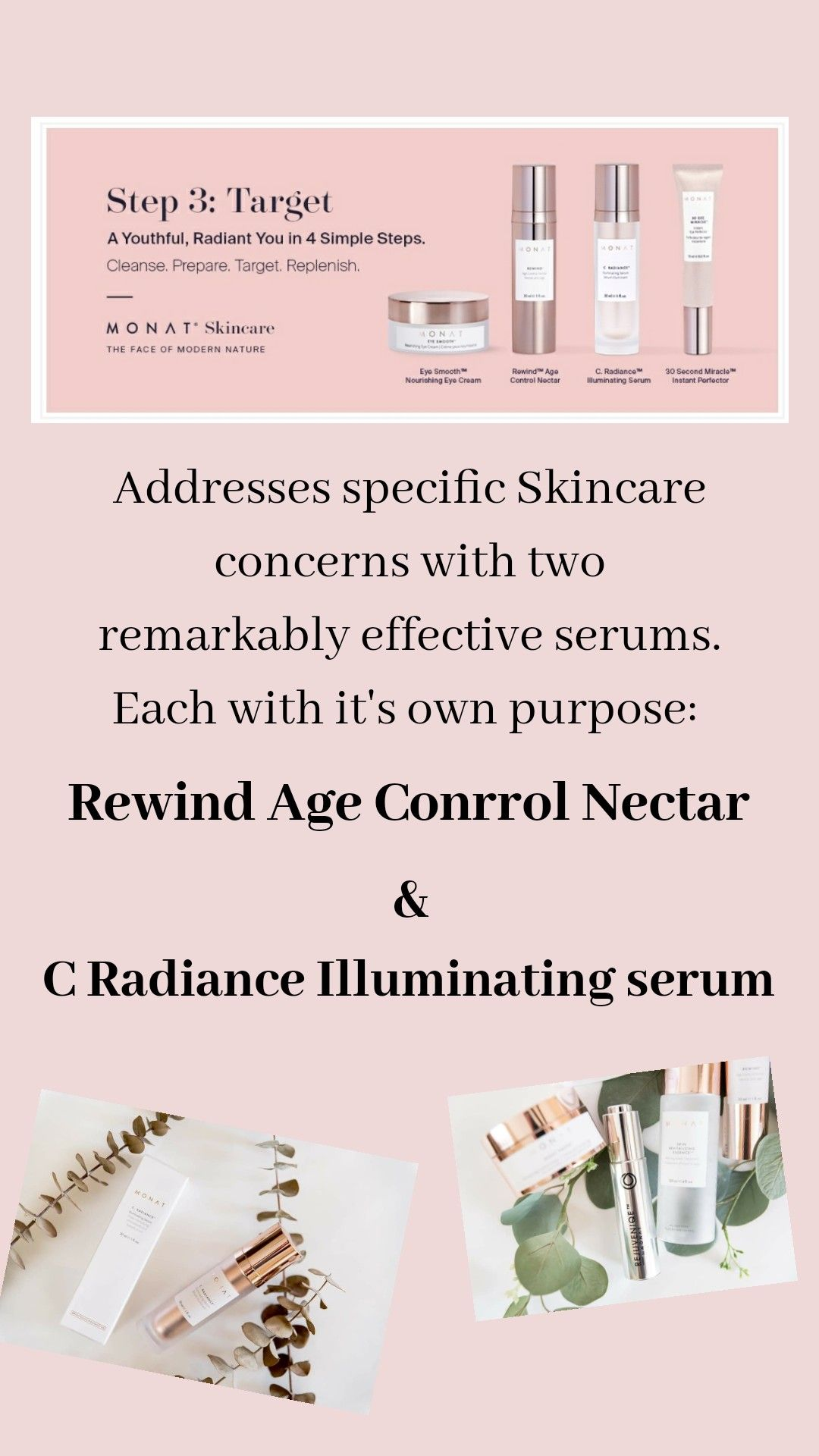 Step 3 Target Monat Skincare Monat Products Monat Market Partner In 2020 Skin Care Monat Monat Before And After