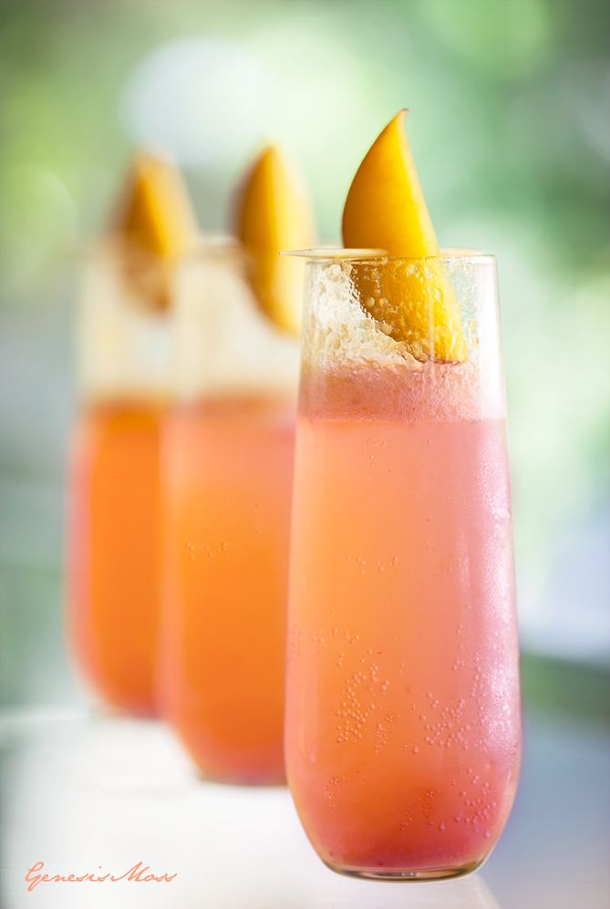 This beautiful drink originated in Venice around the 1940's from the infamous Harry's Bar. While most Bellinis nowadays won't always be pinkish in color, it was named the Bellini because it's pinkish color reminded the creator of a pink toga in a painting by artist Giovanni Bellini.