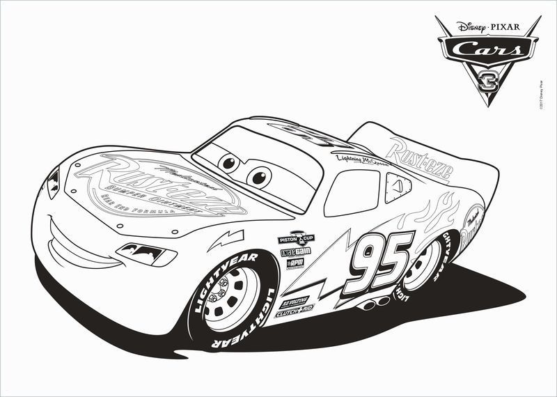 Cars 3 Lightning Mcqueen Rusteze Racing Center Coloring Pages Free Center Coloring Lightnin Cars Coloring Pages Disney Coloring Pages Truck Coloring Pages