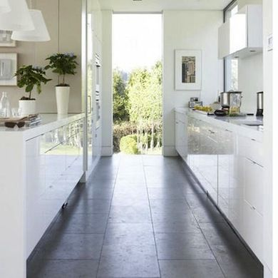 16 Gorgeous Galley Kitchens Galley Kitchen Design White Galley Kitchens Galley Kitchens