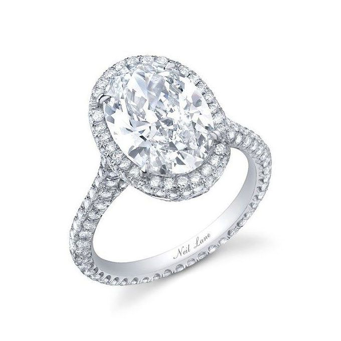 Large Diamond Engagement Rings  Some day  Pinterest  Neil lane Engagement and Ring