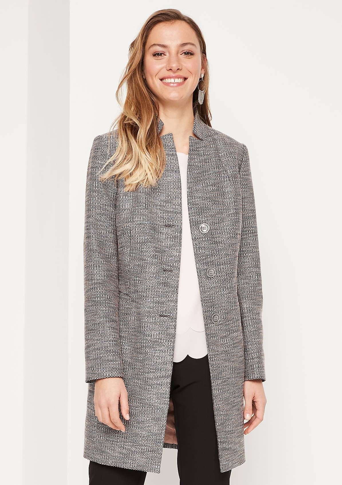 Mantel | Blazer, Fashion, Jackets