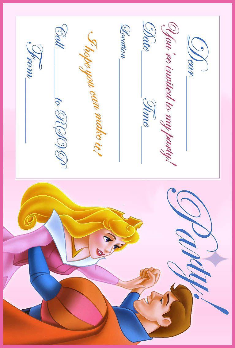 free+printable+party+invitations+(2).jpg] | Aurora/ Sleeping Beauty ...