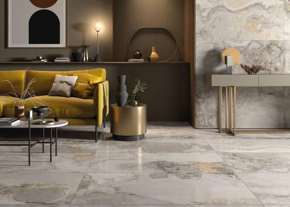 Gianni Griggio Polished Porcelain Tile In 2020 Polished Porcelain Tiles Floor Decor Living Room Decor Colors
