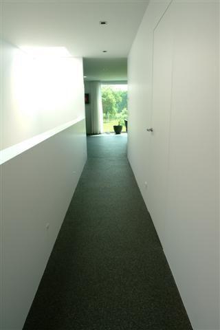 Interieurinspiratie. Modern interieur met mezzanine. Open modern ...