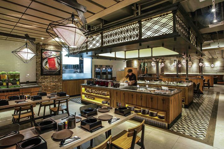 Shaburi Restaurant By Metaphor Interior At Grand Indonesia Jakarta Retail Design Blog