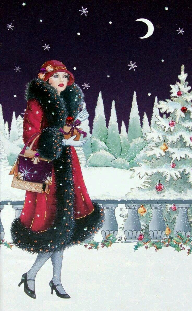 Pin by Beskrajne Mudrosti on Art Deco Lady | Pinterest | Art deco ...