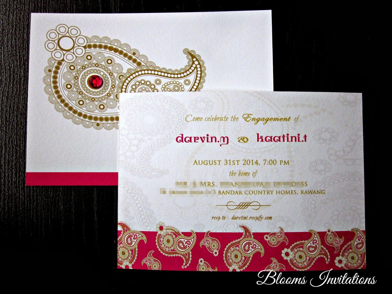 Invitation Cards For Wedding: Handmade Custom Wedding Invitation Malaysia, Wedding