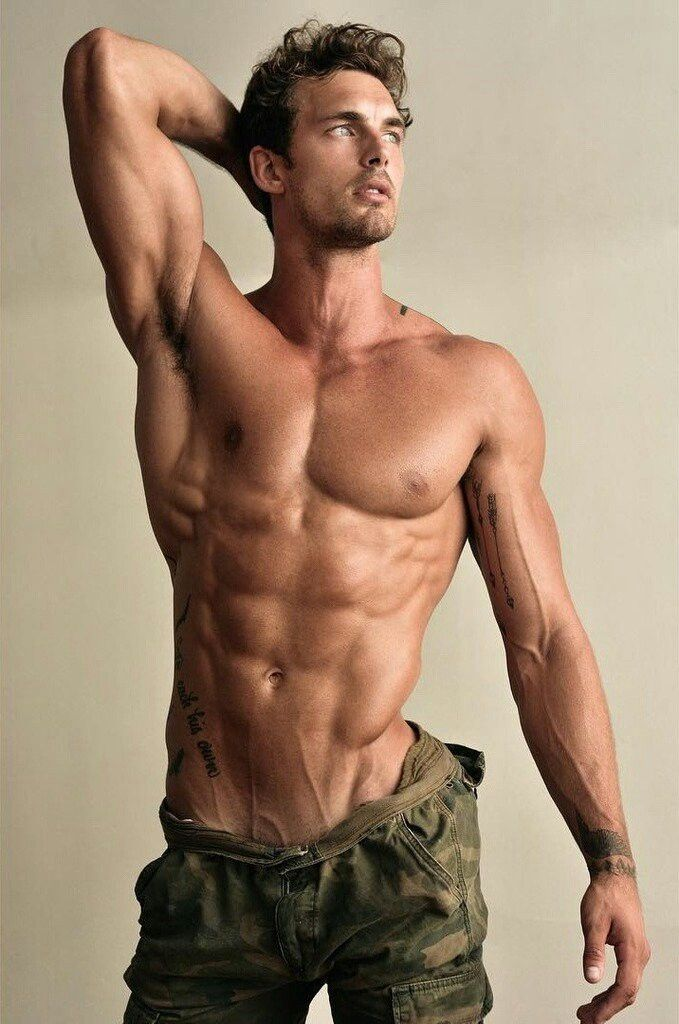 Hot topless guys