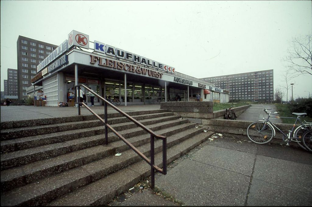Kaufhalle Architecture Berlin East Germany