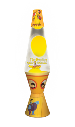 "Target Lava Lamp Best Show Details For 145"" Yellow Submarine Lava Lamp With Yellow Wax Inspiration Design"