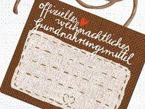 15x Sticker weihnachtliches Grundnahrungsmittel
