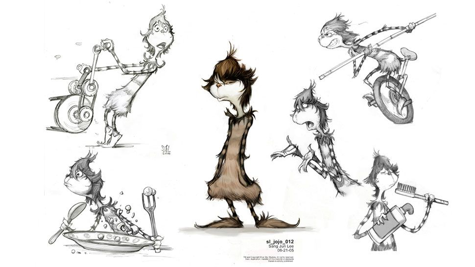 Horton Hears A Who Concept Art Character Concept Animation Sketches